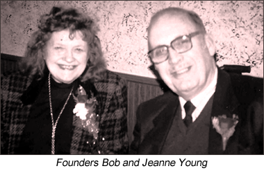 Founders Bob and Jeanne Young