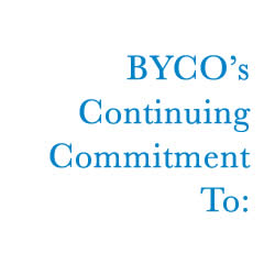 BYCO's Continuing Commitment